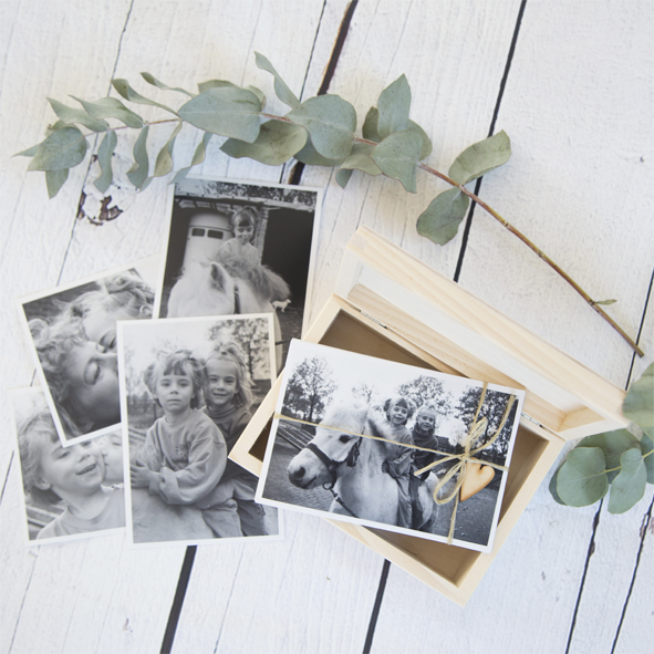 Fotobox met prints
