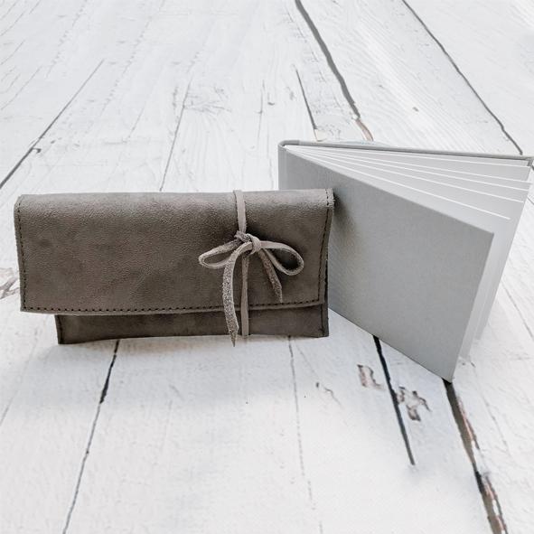 fotoboekje linnen, liggend, 1015cm, microfiber, miniboekje, minifotoboekje, stoefboekje